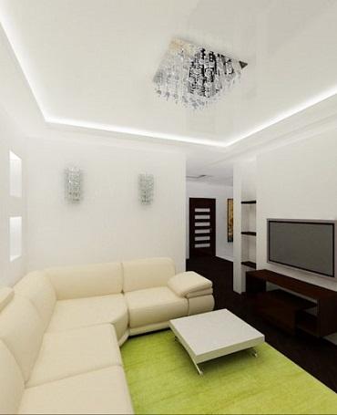Двухуровневый потолок купить в Киеве